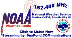 NOAA Weather Radio South Jersey